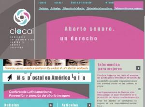Página web de CLACAI
