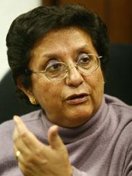 Rosa Mavila León, feminista y amiga de DEMUS